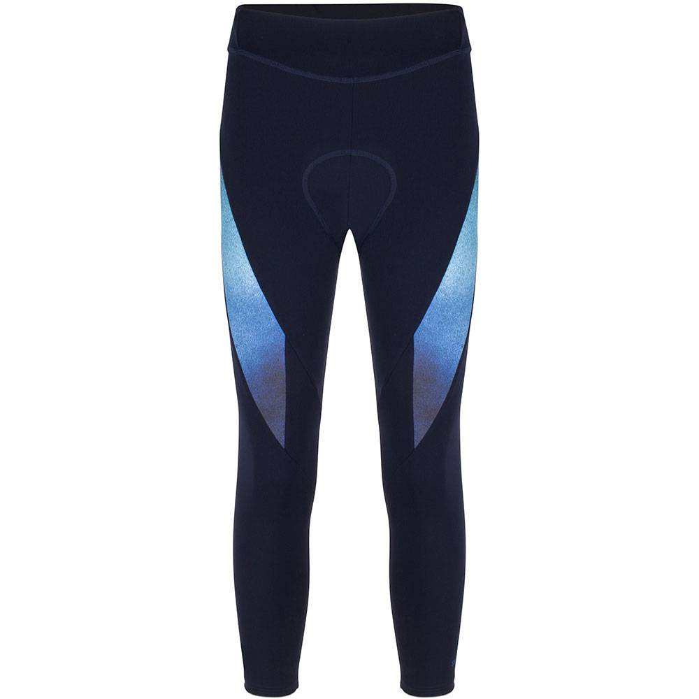 Cycling 7/8 Bib Legging - Night/Blue/Aqua