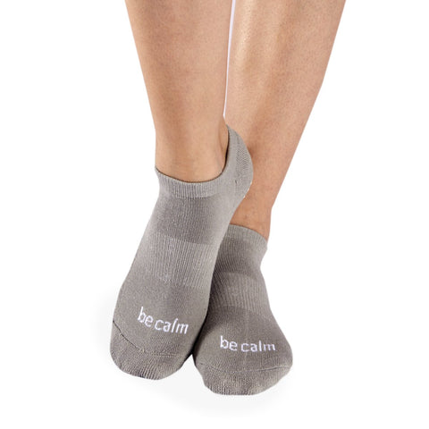 Sticky Be Socks – Be Calm - Stone Grey