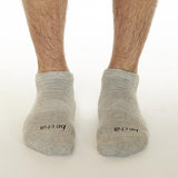Sticky Be Men Socks - Be Chill - Heather/Black