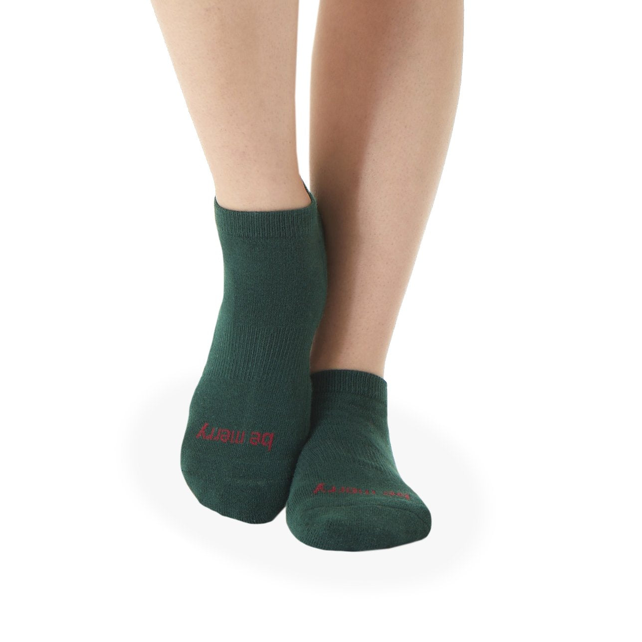 Sticky Be Socks - Be Merry - Hunter