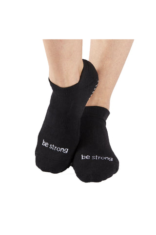 Sticky Be Socks – Be Strong - Black
