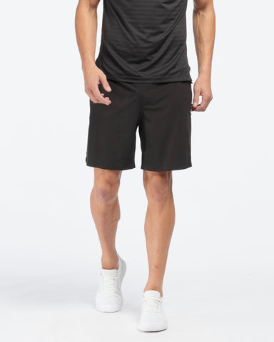 "7"" Swift Knit Short - Lined Black"