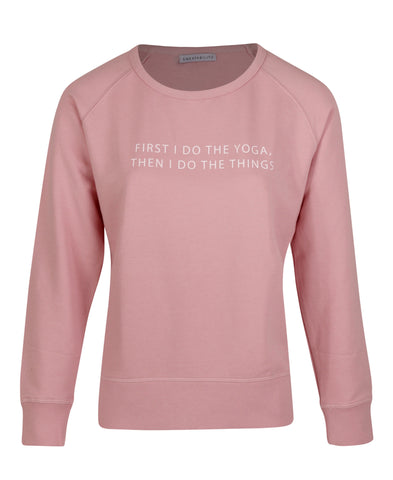 Yoga First Sweater - Pink