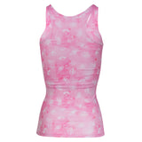 Matia Eye Pink Recycled Tight Tank Top