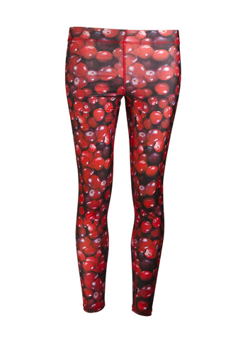 Cranberries Performance Leggings