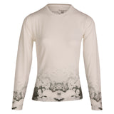 Mindy - Monochrome Wildflower Ombre - XS