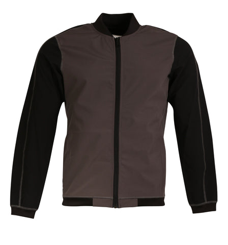 Gastown Jacket - Charcoal/Black - S