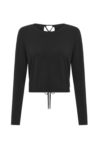 Retreat Modal Jumper - Black