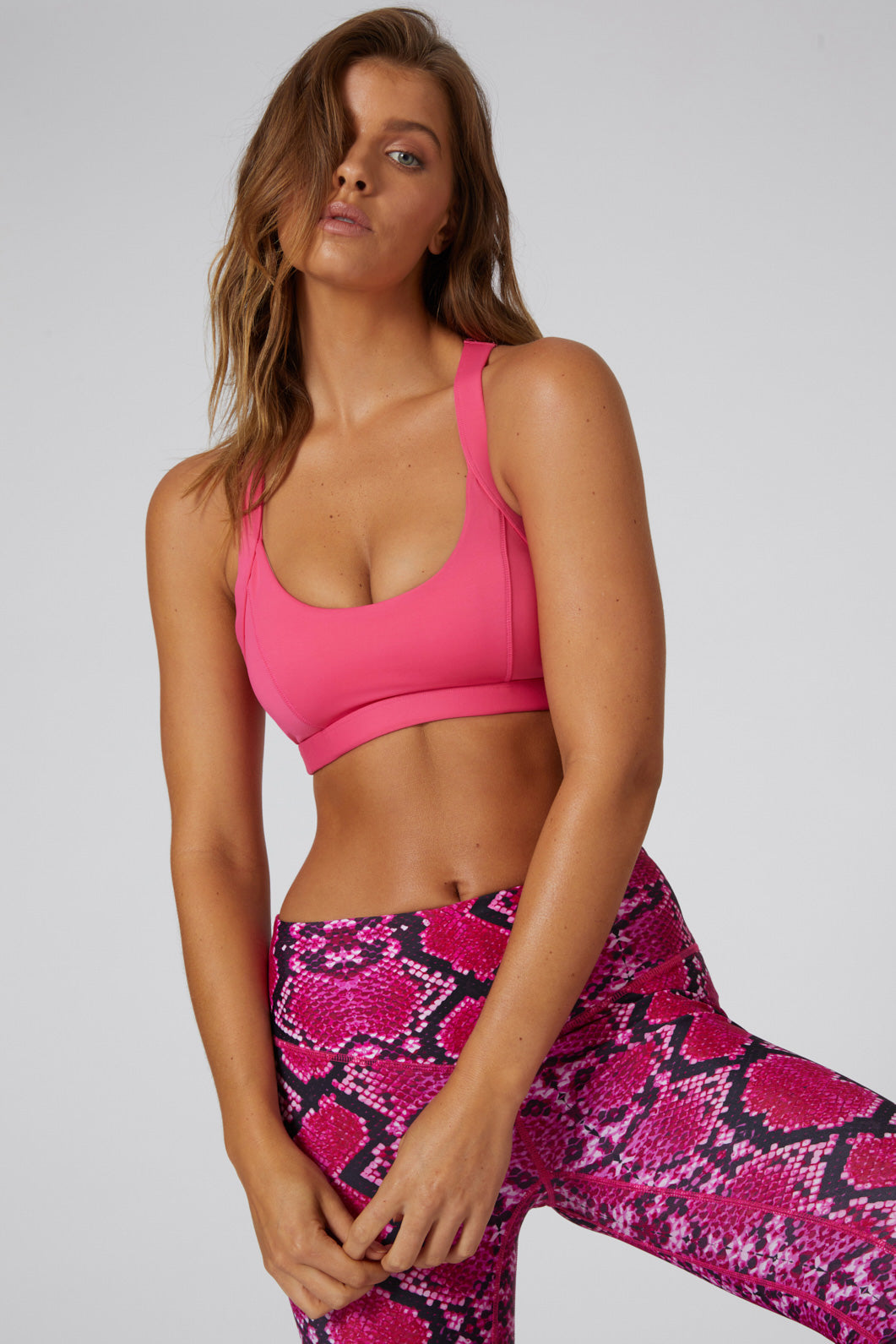 Little Miracles Bralette - Hot Pink