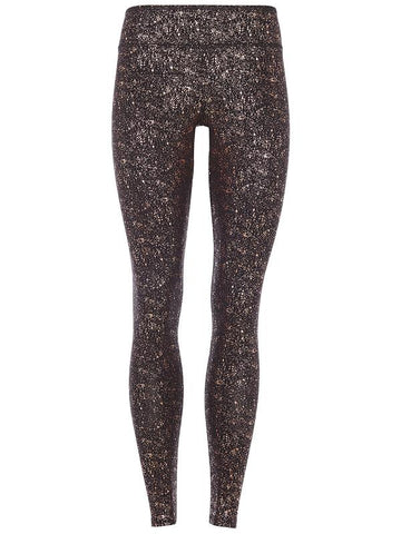 High Rise Sparkling Legging - Black