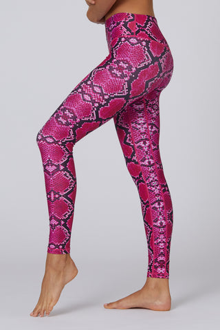 Second Nature Legging - Hot Pink