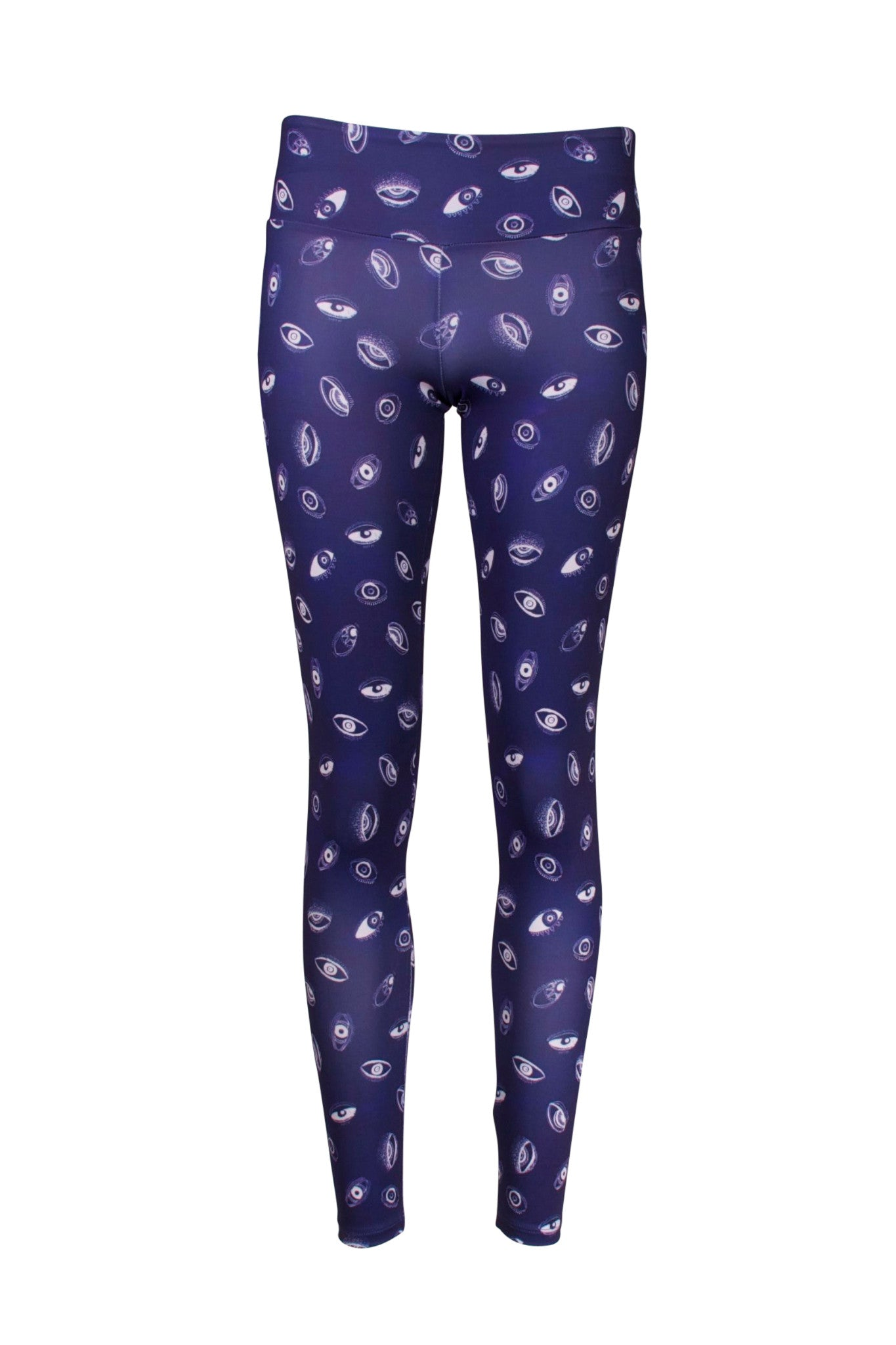 Matia Eye Blue Recycled Leggings - L