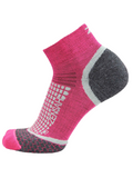 Grit Running Socks (Ankle) - Hot Pink