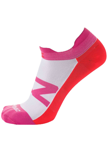 Invisi Running Socks - Pink/Orange