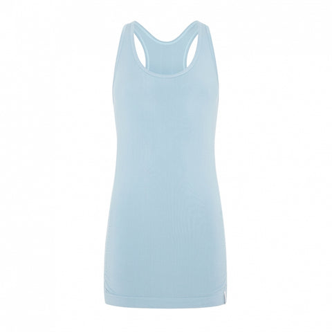 Hatha Bamboo Vest - Light Blue