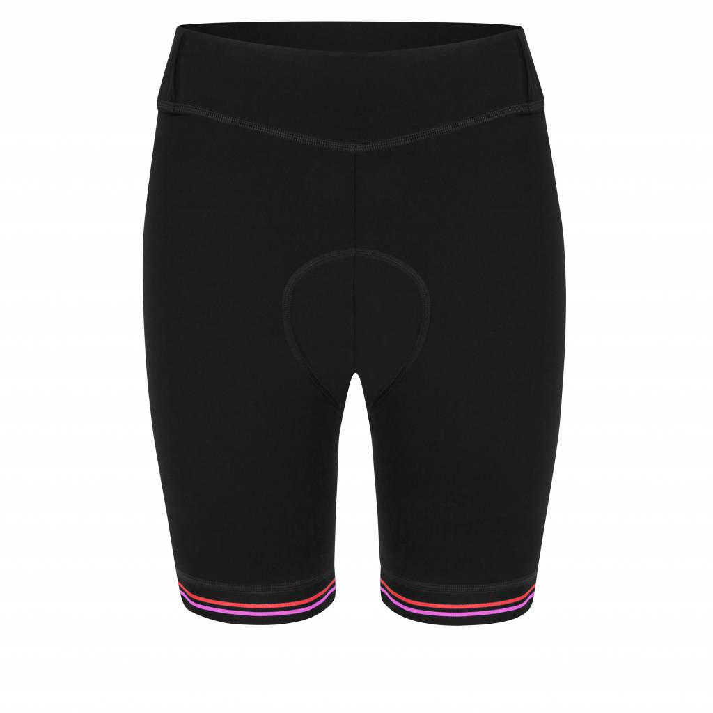 Cycling Shorts - Black/Pink/Red