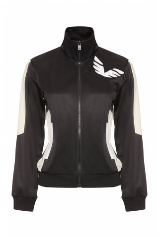 Relay Track Top - Black - S