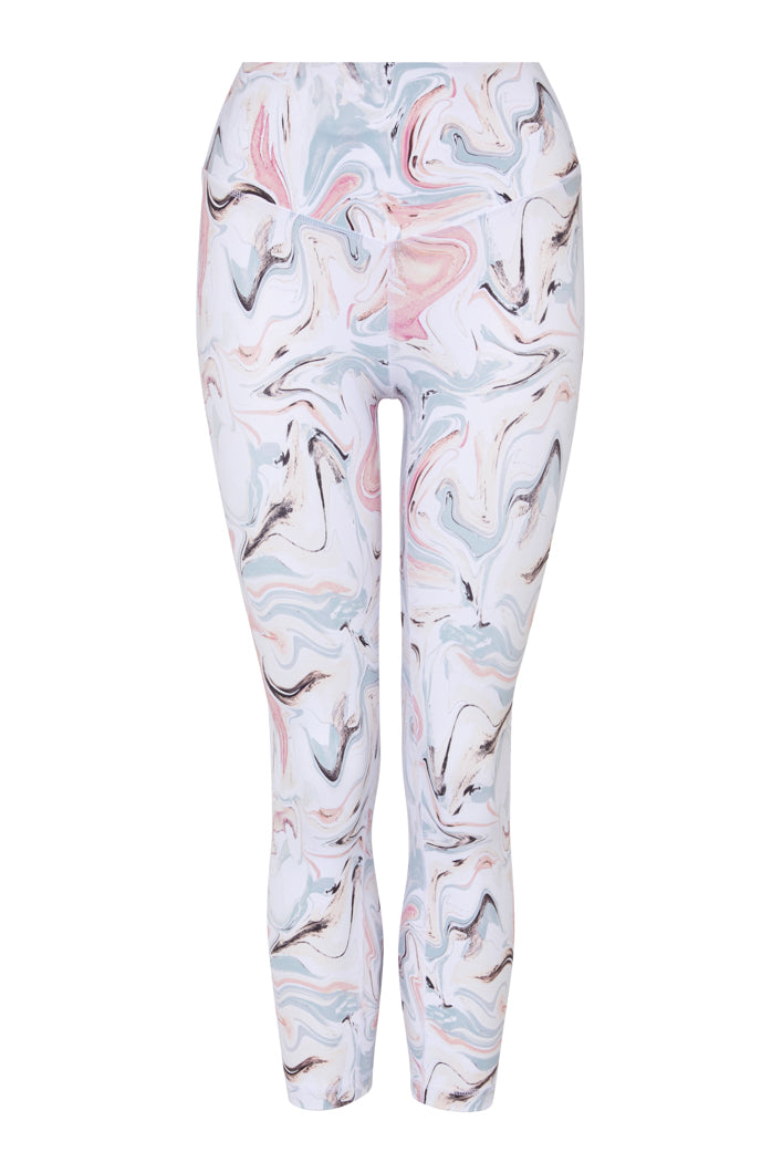 Marvel 3/4 Legging - White - XS