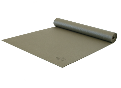 Love Yoga Mat - Dark Green