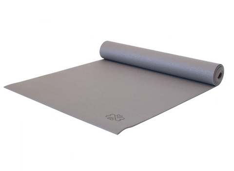 Love Yoga Mat - Warm Grey