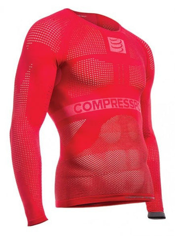 Multisport Shirt Long Sleeve – Red - S