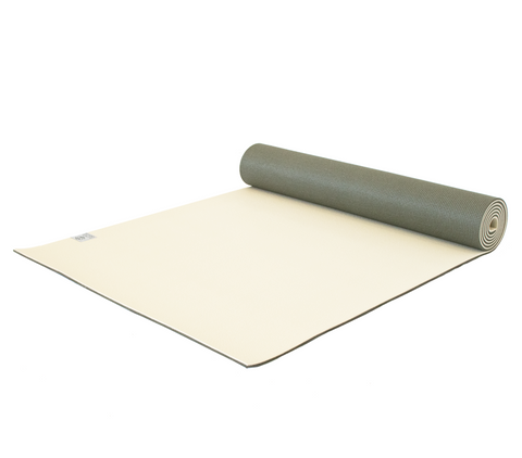 Premium Yoga Mat - Graceful Green