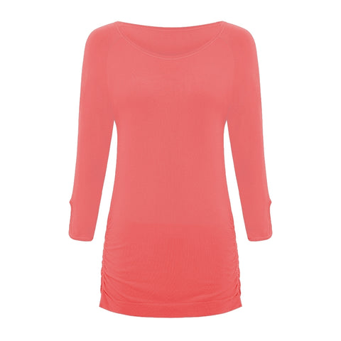 Savasana Bamboo Top - Coral