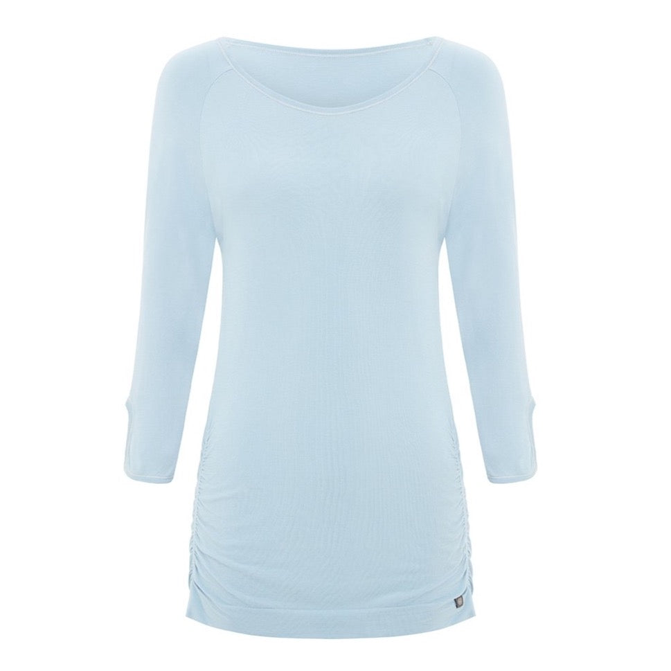 Savasana Bamboo Top - Light Blue