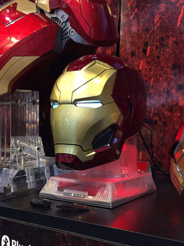 hero audio iron man and star wars speakers at ani-com and games hong kong - 1
