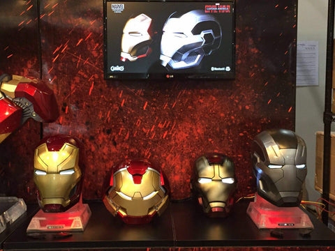 hero audio iron man and star wars speakers at ani-com and games hong kong - 5