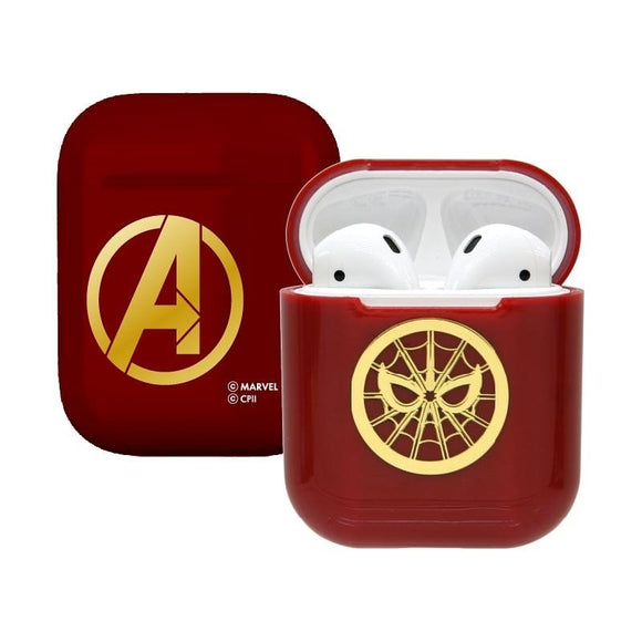 Marvel Avengers Iron Spiderman Airpod Casing Iphone Airpods Accessories - HERO AUDIO