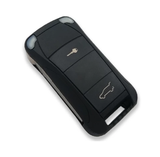 Chrome Remote Key Cover For Porsche Cayenne Remote Flip Key