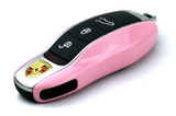 Remote Key Cover (Gloss Pink) For Porsche Keyless Remote Key