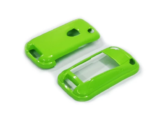Remote Key Cover (Gloss Green) For Porsche Cayenne Remote Flip Key