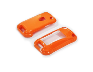 Remote Key Cover (Gloss Orange) For Porsche Cayenne Remote Flip Key