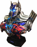 Transformers Optimus Prime Bust Life-Size 1:1 Bluetooth HI-FI System - HERO AUDIO