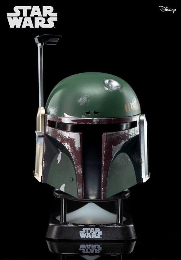 Star Wars BoBa Fett Helmet Mini Bluetooth Speaker (V2.0) - HERO AUDIO