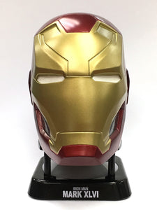 Avengers Iron Man Mk46 Helmet Mini Bluetooth Speaker (V2.0) - HERO AUDIO