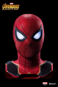 Avengers 3 Iron Spider-Man Life-Size Bluetooth Speaker - HERO AUDIO