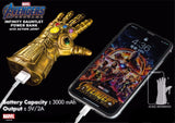 Marvel Hero Thanos Infinity Guantlet Power Bank with Action Joint - HERO AUDIO
