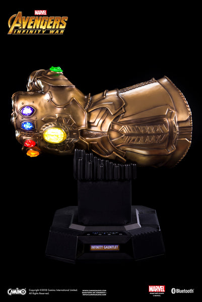 Avengers 3 Infinity Gauntlet Life-Size Bluetooth HI-FI System  (Poly/Resin) - HERO AUDIO