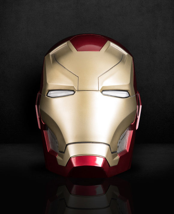 IRON MAN NARK 46 (MK46) HELMET LIFT-SIZE (1:1) BLUETOOTH SPEAKER - HERO AUDIO