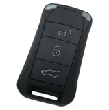 Remote Key Cover (Gloss White) For Porsche Cayenne Remote Flip Key