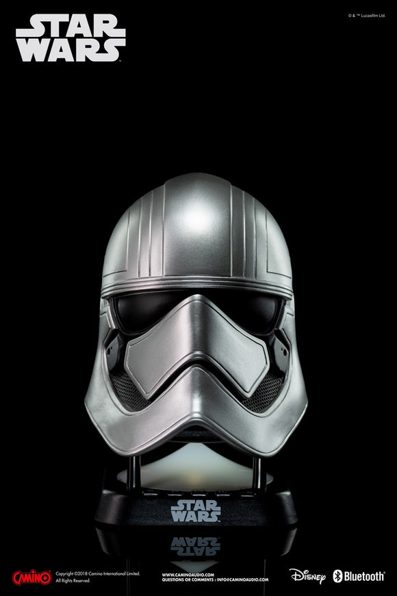 Star Wars EP. VIII Captain Phasma Mini Bluetooth Speaker - HERO AUDIO
