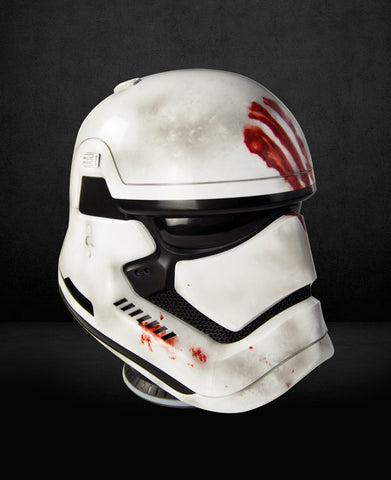 Star Wars EP.7 Storm Trooper Helmet (Blood Handprint) 1:1 Bluetooth Speaker (Available by email order)(Estimated delivery time 60 days)