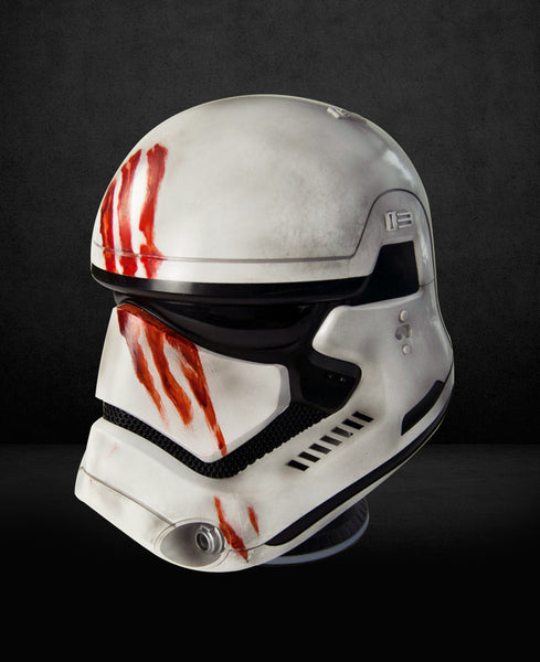 Star Wars EP.7 Storm Trooper Helmet (Blood Handprint) 1:1 Bluetooth Speaker - HERO AUDIO