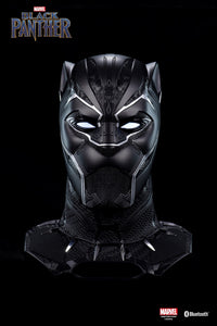 Marvel Black Panther Helmet Life-Size Bluetooth Speaker with Projector - HERO AUDIO