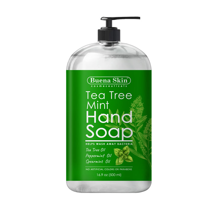 Tea Tree Mint Hand Soap -16oz