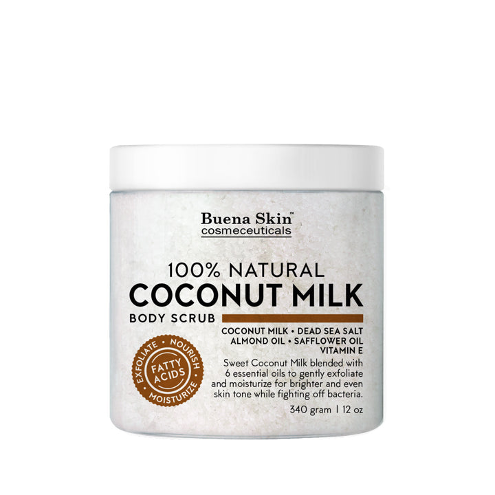 Coconut Milk Body Scrub 12oz