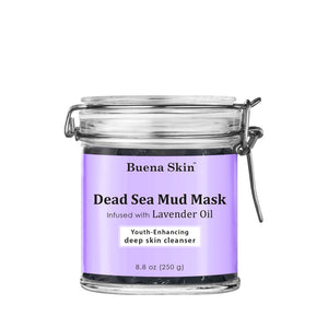 Dead Sea Mud Mask Infused with Lavender Oil
